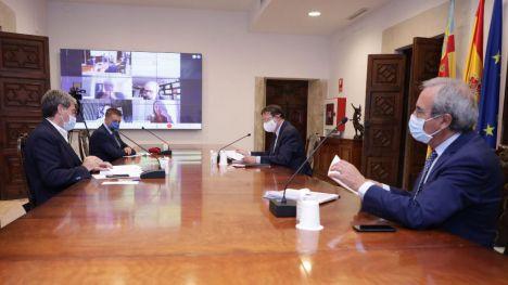 Puig aborda con expertos las medidas para la reactivación económica