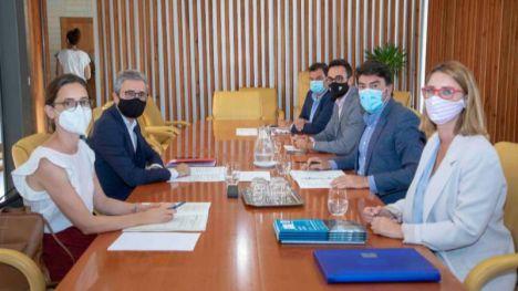 La Generalitat y el Ayuntamiento de Alicante acuerdan desbloquear la Vía Parque en el PAU2