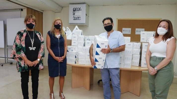 30.000 mascarillas para colectivos que trabajan con personas en situación de vulnerabilidad