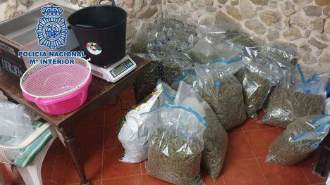 Detenidas 81 personas en España, Polonia y Reino Unido por tráfico de drogas y armas desde Alicante