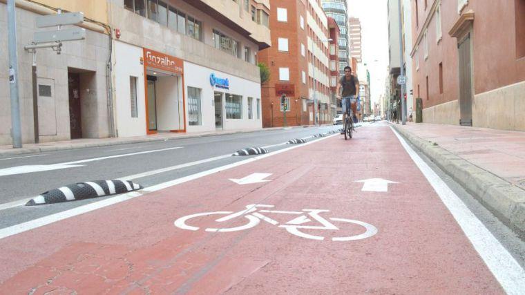 Castelló alcanzará los 100 kilómetros de carril bici con nuevos tramos en Castell Vell y Pascual Asensio