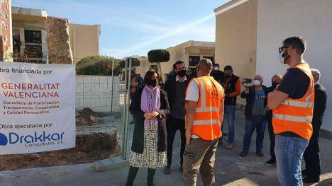 Pérez Garijo: 'Con cada exhumación vamos devolviendo la dignidad a nuestro país'