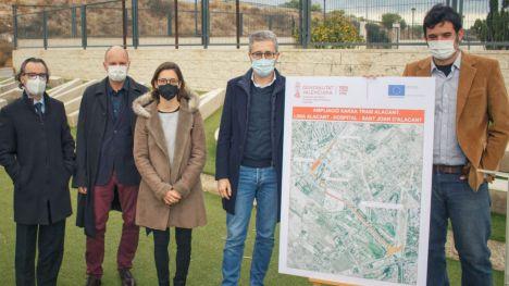 La ampliación de la Red TRAM entre Alicante y el Hospital de Sant Joan contará con una parada en su núcleo urbano