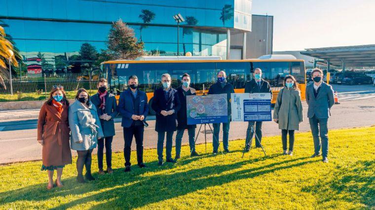 2021 traerá la lanzadera que une València con el parque empresarial Juan Carlos I de Almussafes