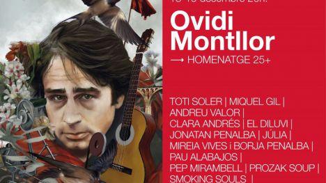 El Institut Valencià de Cultura homenajeará a Ovidi Montllor en València, Castelló, Alicante y Alcoy