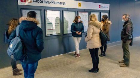 FGV inicia la formación de 120 auxiliares COVID-19 para Metrovalencia y TRAM d'Alacant