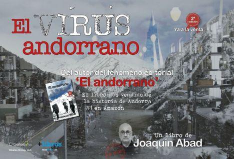 'El virus andorrano', el nuevo libro de Joaquín Abad