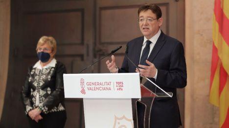 Puig anuncia la reapertura con limitaciones de la hostelería y de las instalaciones deportivas