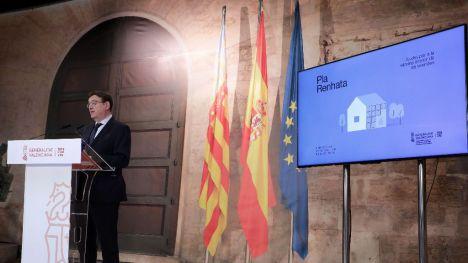 Puig defiende las ayudas a la rehabilitación de las viviendas para la 'reactivación económica y la generación de empleo'