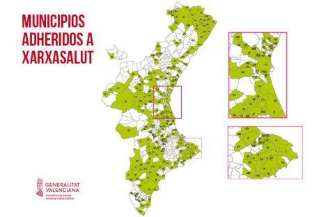 232 municipios valencianos forman parte de la red XarxaSalut