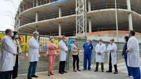 El Hospital de Alicante construye un nuevo edificio que ampliará el Servicio de Urgencias