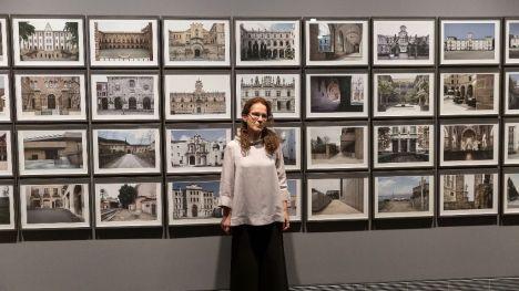 La obra de la alicantina Ana Teresa Ortega llega a Navarra con el apoyo del Consorci de Museus