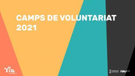 El IVAJ convoca la campaña 'Viu la Solidaritat' para campos de voluntariado juvenil 2021 en la Comunitat