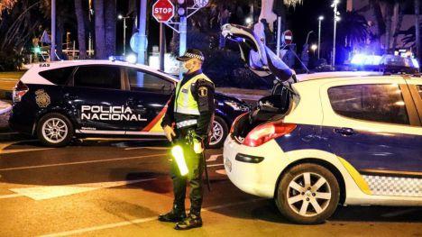 Alicante despliega más de 1.000 efectivos de la Policía este fin de semana