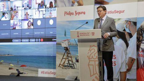Puig subraya que 'Estiu Segur 2021' sitúa a las personas jóvenes como protagonistas de la recuperación
