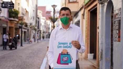 Castelló lanza la campaña 'Sempre al teu costat!' para dinamizar el comercio local