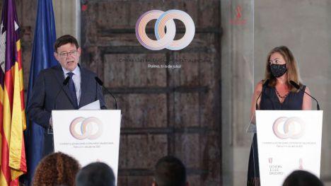 Puig pone en valor la alianza con Baleares para liderar la reactivación económica tras la pandemia