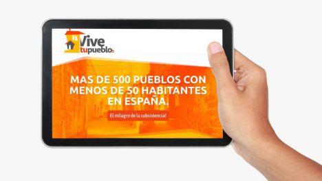 Vive tu pueblo: Un reto ilusionante por la 'España Vaciada'