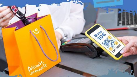 Alicante invita a solicitar los Bonos Comercio con descuentos de 40€
