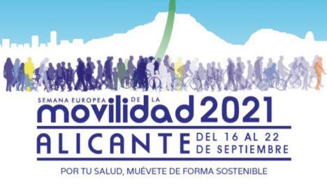 Alicante convierte la Movilidad sostenible y segura en protagonista de septiembre
