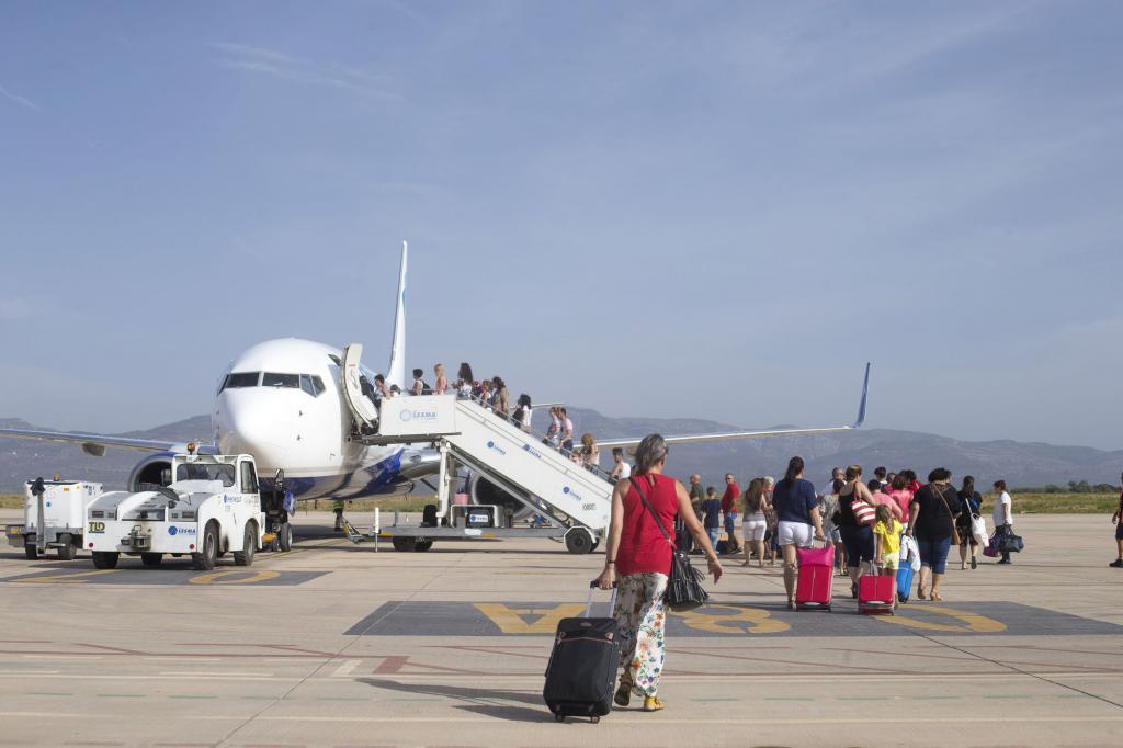El aeropuerto de Castellón mejora de nuevo la valoración de las personas usuarias y recibe una puntuación media de 8,60