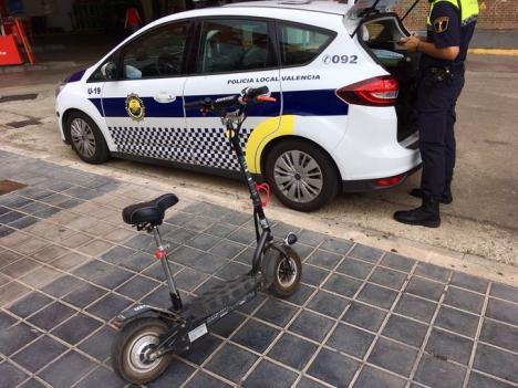 Aarón Cano: «No tenemos ningún problema asociado a la presencia de patinetes en nuestras calles»