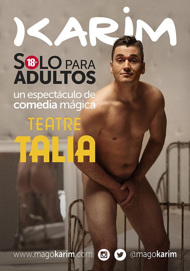 Karim estrena su comedia mágica en la Comunidad Valenciana