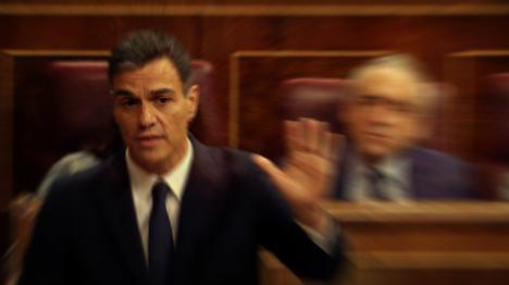 Pedro Sánchez, tocado y posiblemente hundido