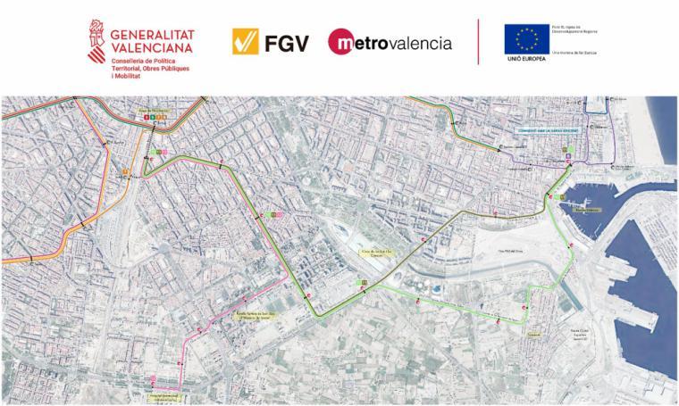La Generalitat presenta la nueva Línea 12 que conectará la red de Metrovalencia con el Hospital La Fe