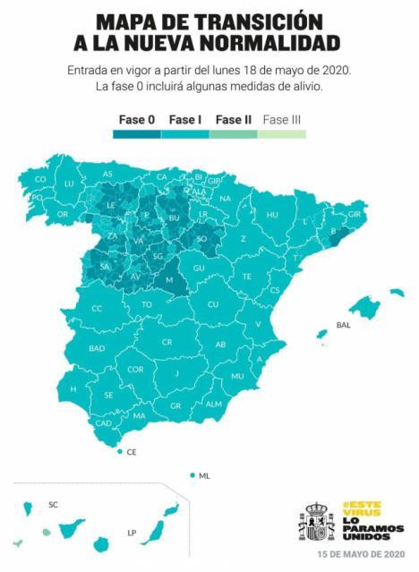 Toda la Comunitat Valenciana pasa a la Fase 1