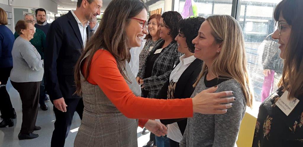 Oltra: 'Igualdad ha ampliado en 125 plazas la oferta de recursos de diversidad funcional y trastorno mental grave en el Baix Vinalopó'