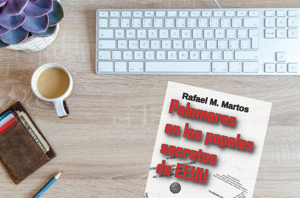 Rafael M. Martos publica nuevo libro: 'Palomares en los papeles secretos de EEUU'