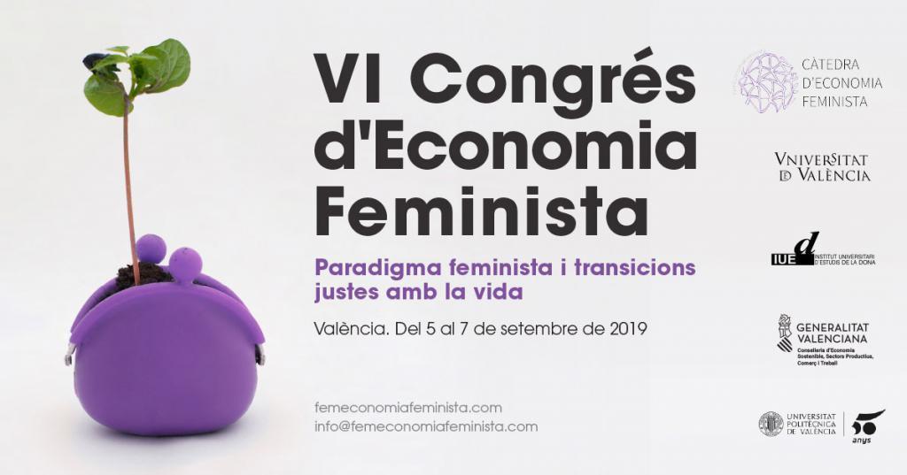 VI Congreso de Economía Feminista en la Universitat Politècnica de València