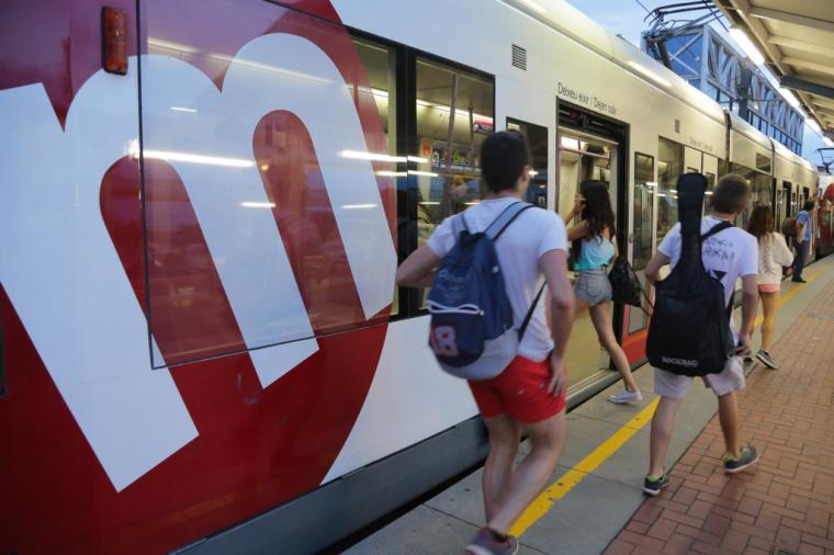 La Generalitat facilitó servicio de transporte a través de Metrovalencia a 5,3 millones de viajeros durante el mes de julio