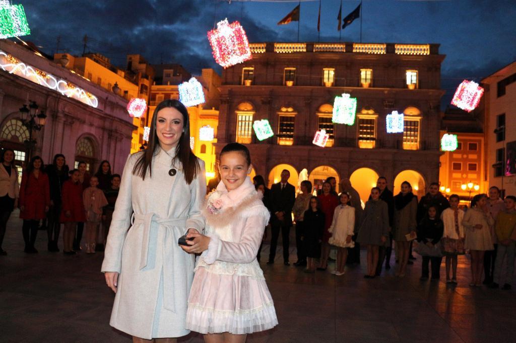 Castelló enciende la iluminación navideña