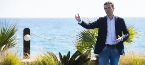Pablo Casado acude a Alicante para respaldar Luis Barcala y a Isabel Bonig