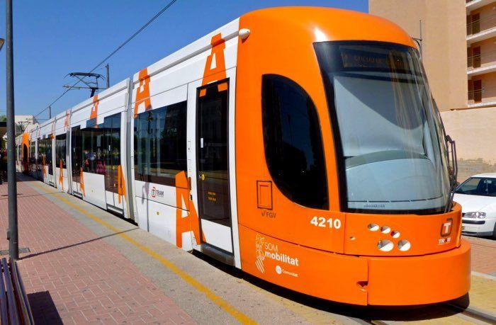 TRAM d'Alacant cuenta ya con seis líneas en servicio